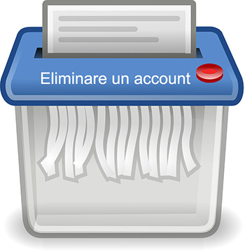 Eliminare un account TIM Mail